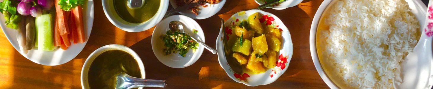 Il cibo in Birmania: cosa si mangia dalla colazione alla cena