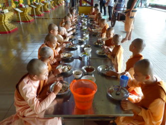 Burmese monks and nuns – Myanmar (Burma)