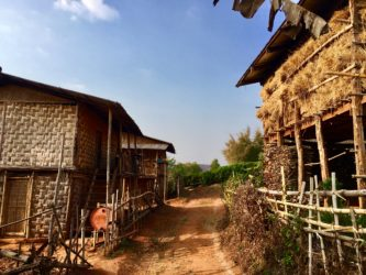 Trekking from Kalaw to Lake Inle: travelling back in time