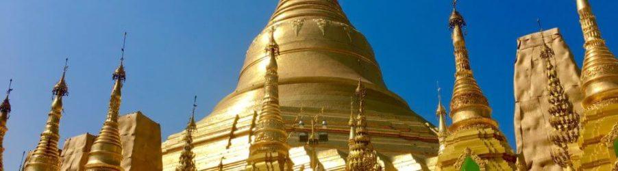 La capitale della Birmania