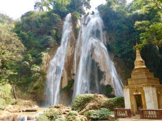 Cosa vedere nei dintorni di Mandalay: la cascata Dat Twa Gyaint (video)