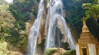 What to see near Mandalay (Myanmar): Dat Twa Gyaint waterfall