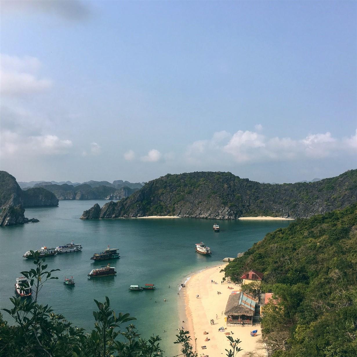 isola di cat ba - baia di halong