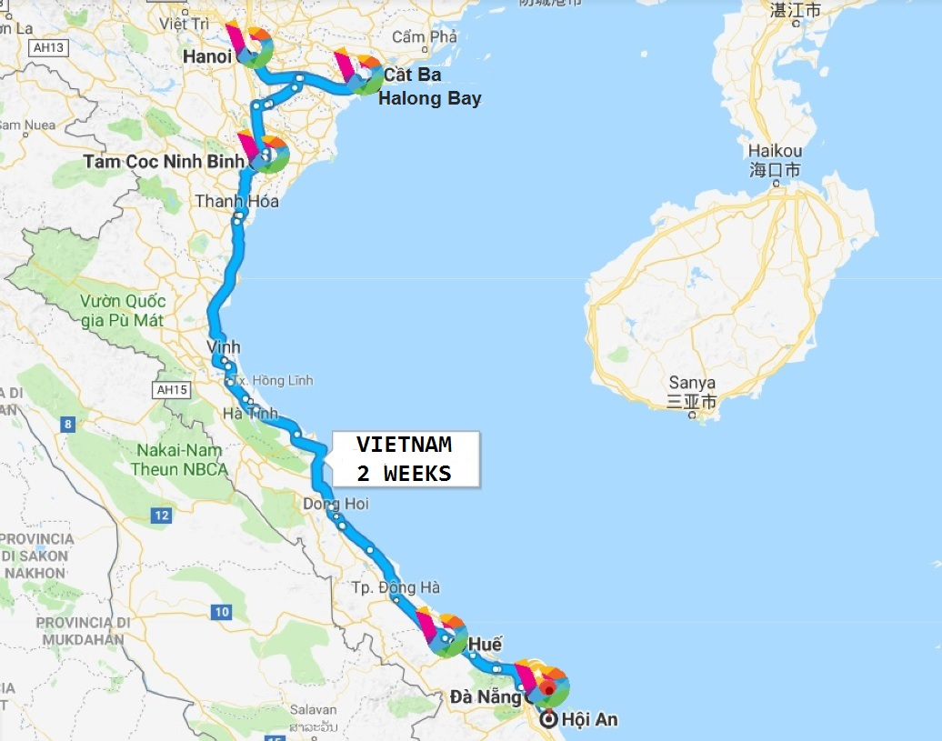 what to see in Vietnam