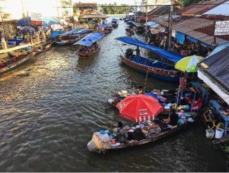 Il mercato galleggiante di Amphawa – Thailandia