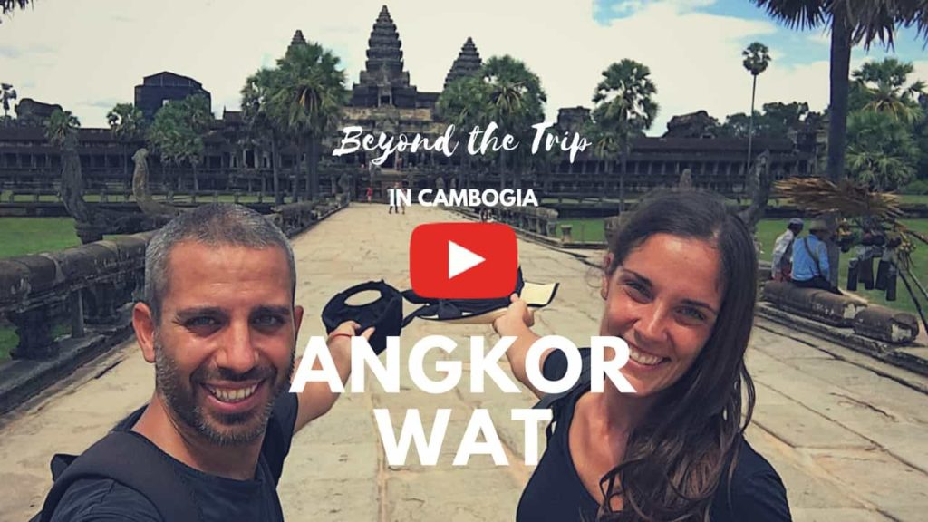angkor wat in bicicletta
