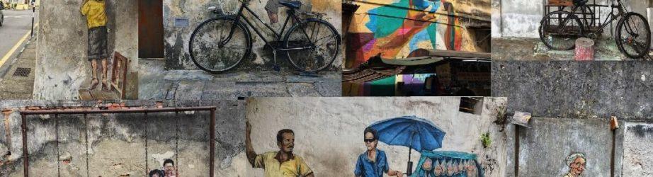 La street art di George Town (Penang)