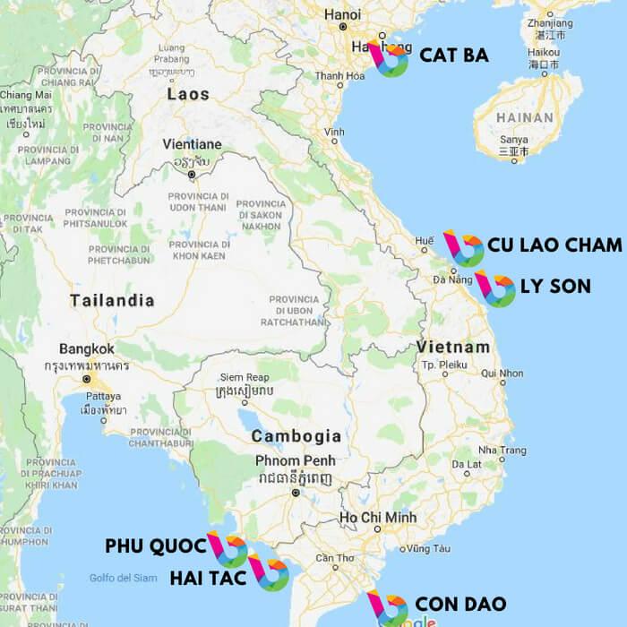isole del vietnam