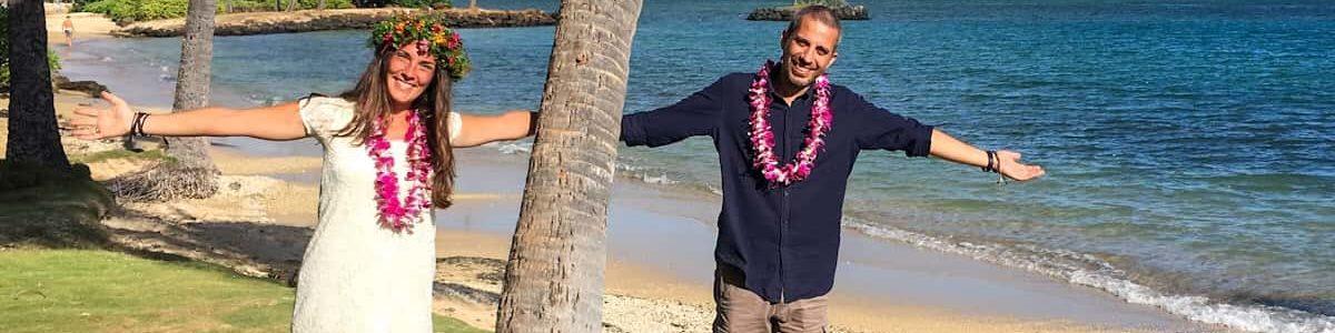 SPOSARSI ALLE HAWAII: FATTO!