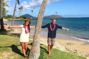 SPOSARSI ALLE HAWAII: FATTO!